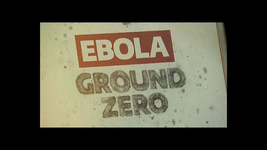 Video Libérie boj s ebolou nezvládá