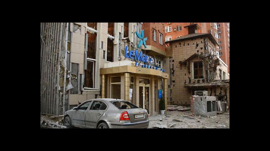 Video Michal Zdobinský k bojům na východě Ukrajiny