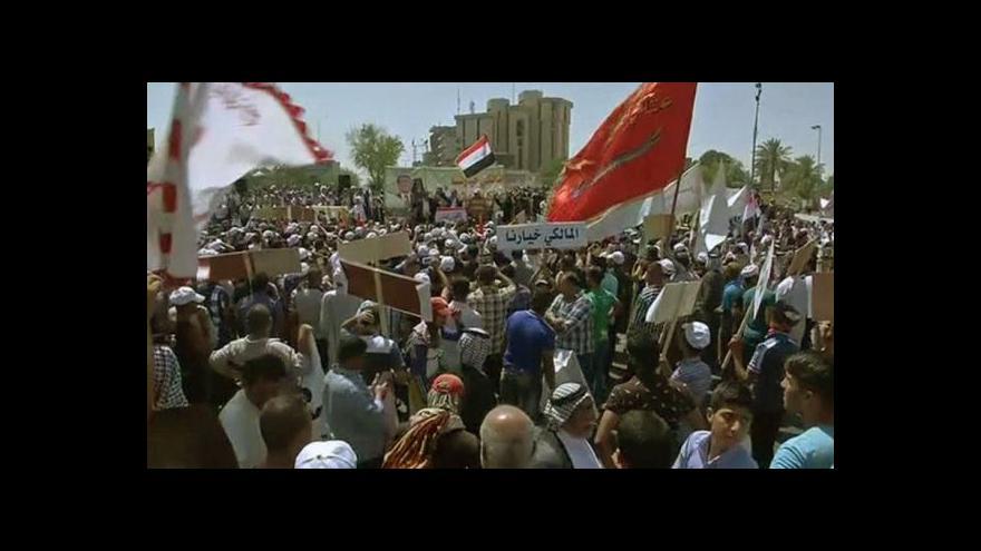 Video Vedle střetů s islamisty eskalují v Iráku i politické spory