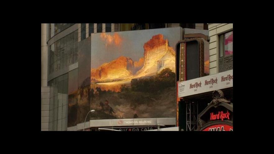 Video Události v kultuře: Umění všude - i na cestách