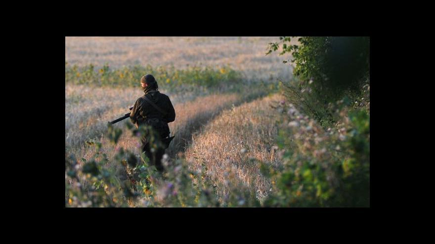 Video Ukrajinské jednotky pokračují v ofenzívě na východě země