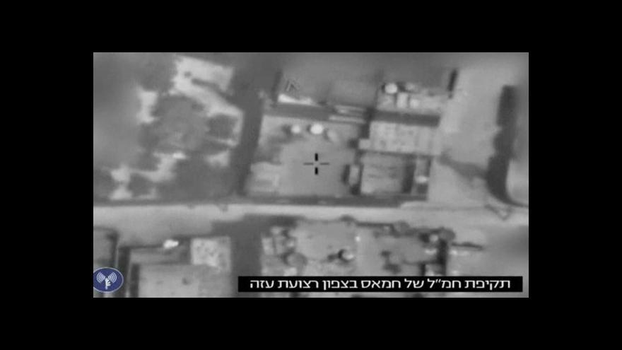 Video Izrael obnovil útoky na palestinská území
