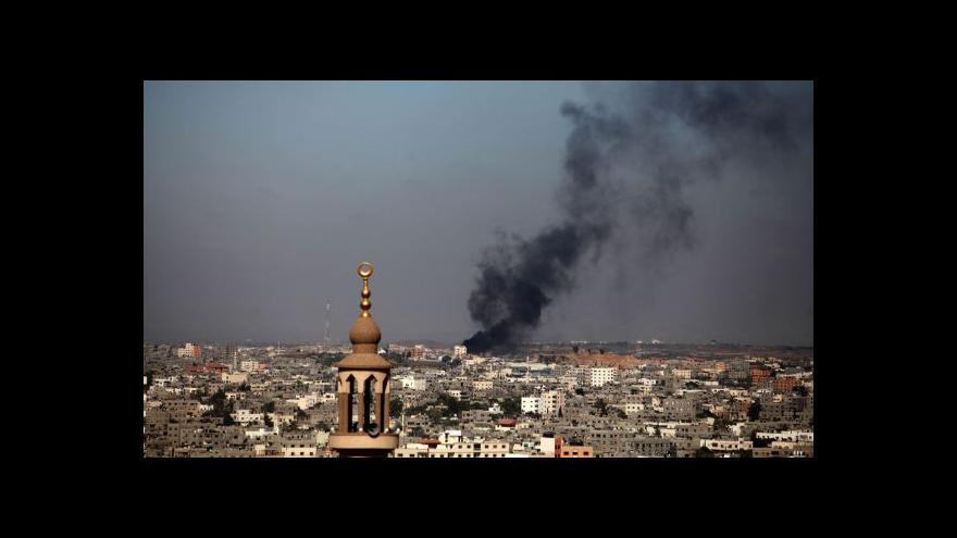 Video Herzog: Izrael nemá jinou šanci, než se bránit