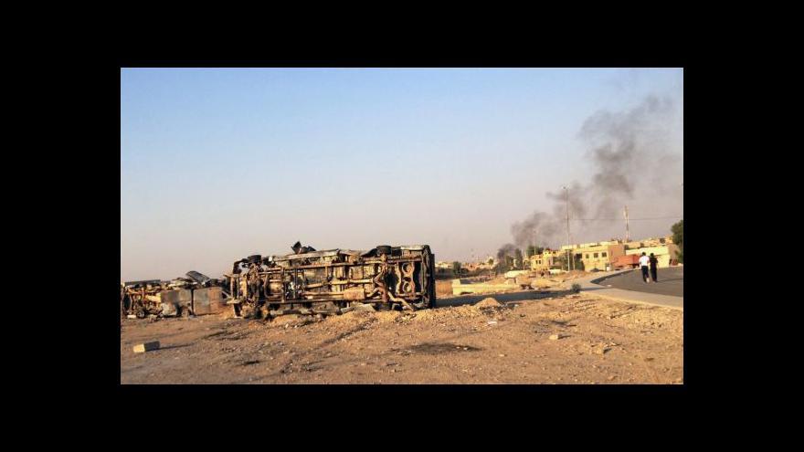 Video Obama posvětil letecké útoky proti islamistům v Iráku