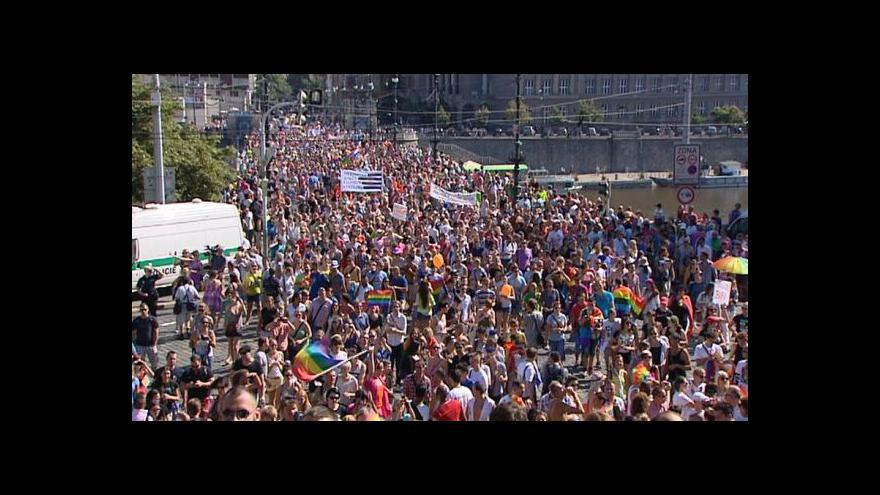Video Začíná Prague Pride