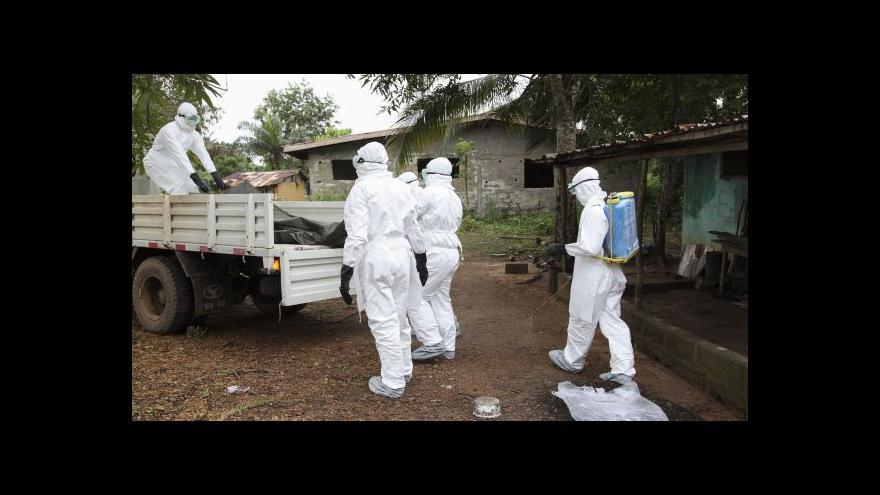 Video WHO: Stav nouze kvůli ebole