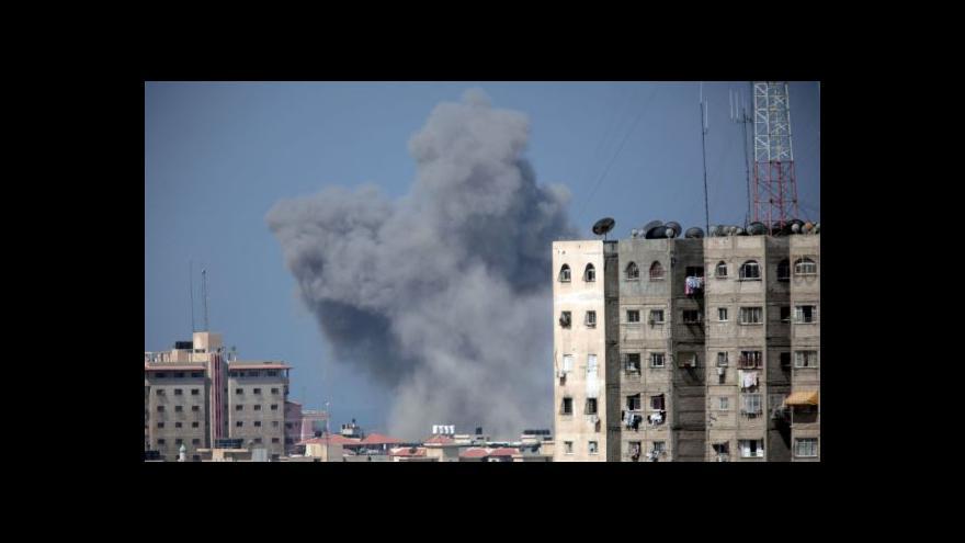 Video Izrael obnovil útoky na Gazu