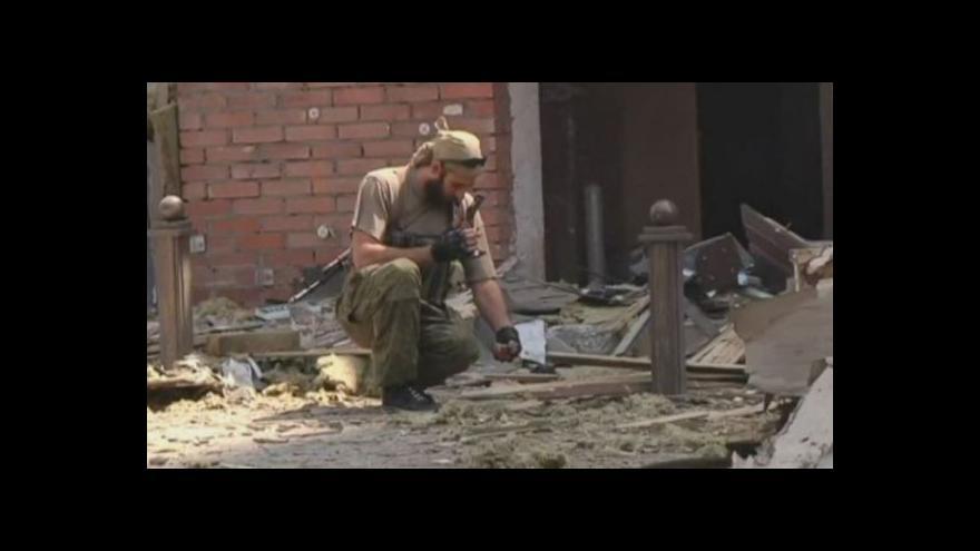 Video Záběry z Doněcku po ostřelování