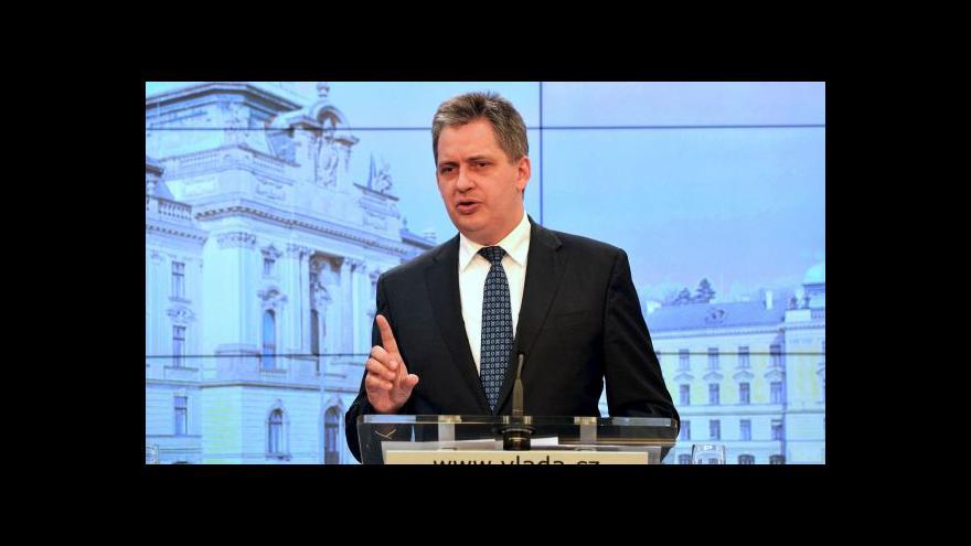 Video Dienstbier: Výběr státních tajemníků se zpolitizuje