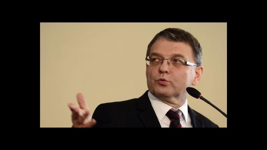 Video Zaorálek: Základních principů jsme se nevzdali