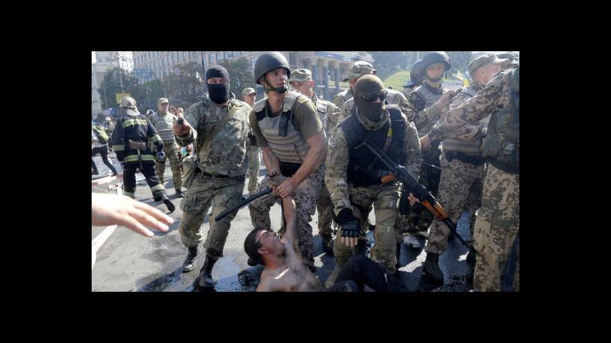 Video Ukrajinské úřady se pokusily vyklidit Majdan - neúspěšně