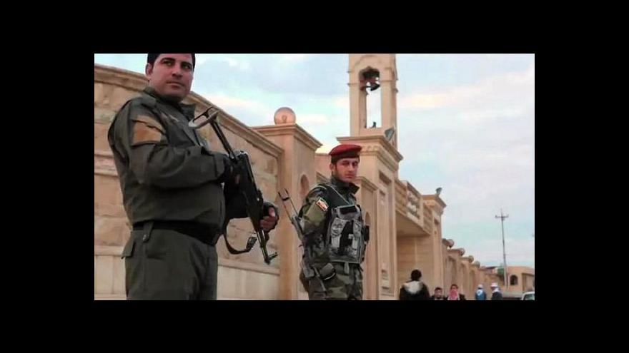 Video Boje v Iráku zasáhly také komunitu místních křesťanů