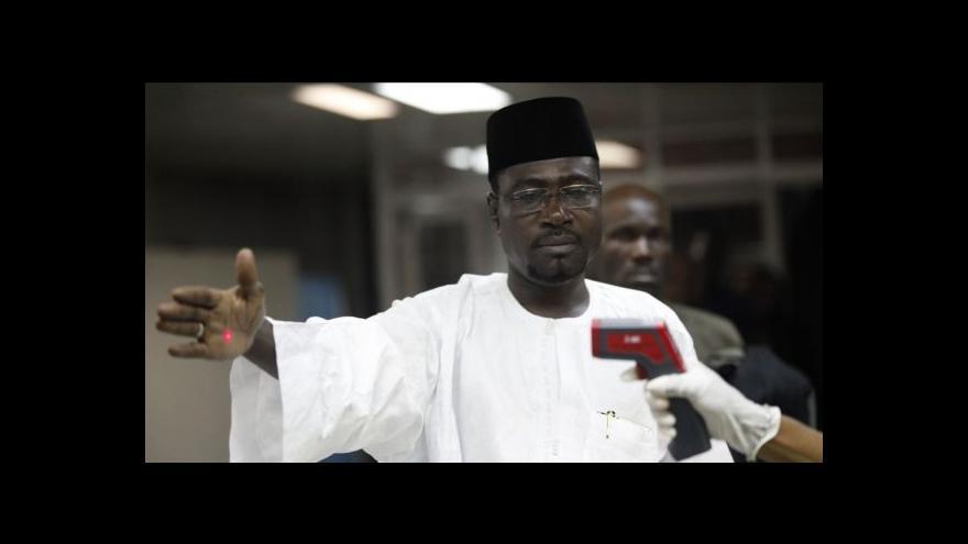 Video Liberijský stav nouze kvůli ebole