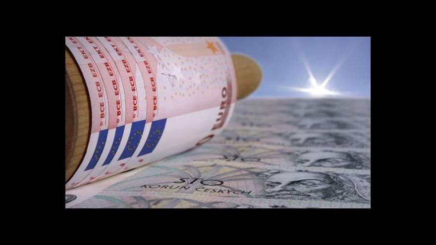 Video Šindel: Za oslabením může být očekávané zpřísnění měnové politiky v USA