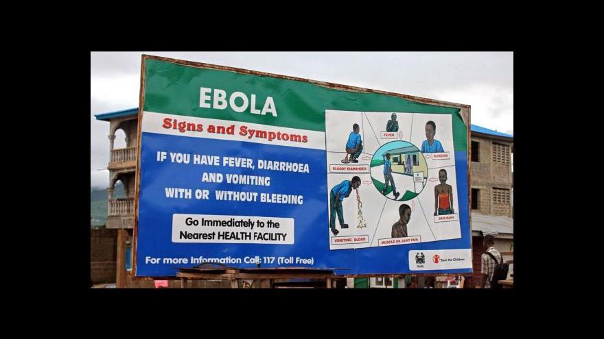 Video Existuje nový lék proti ebole?