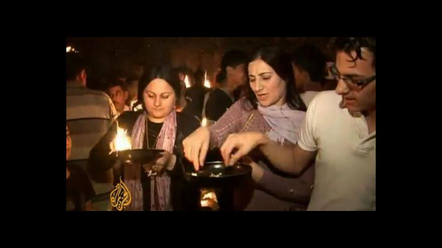 Video Iráčtí radikálové terorizují jezídskou menšinu