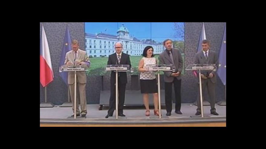 Video Vláda: Snažíme se o co nejširší čerpání z fondů EU