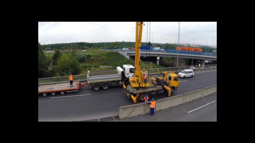 Video Nejdůležitější dopravní tepna v Praze se opět rekonstruuje