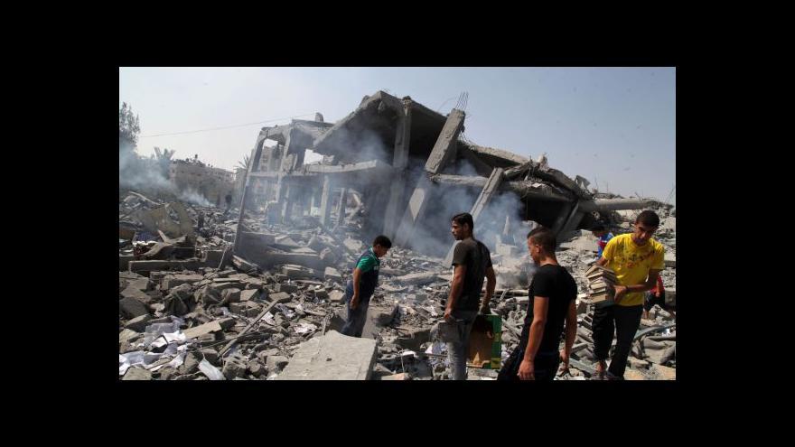 Video Klid zbraní v Gaze platí už druhý den