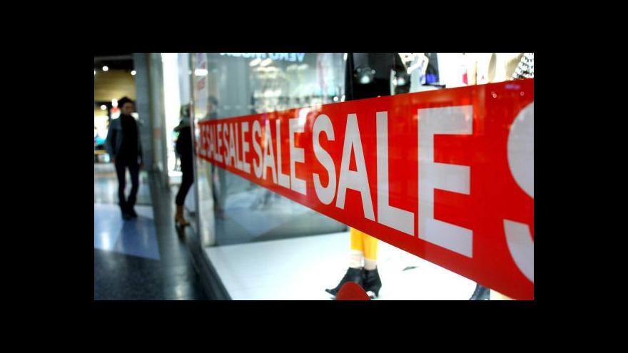 Video Tržby v obchodech vzrostly