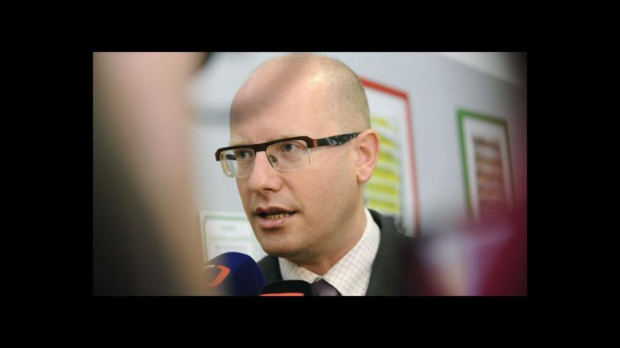 Video Sobotka a Kalousek po jednání: Politicky nezávislá státní správa?