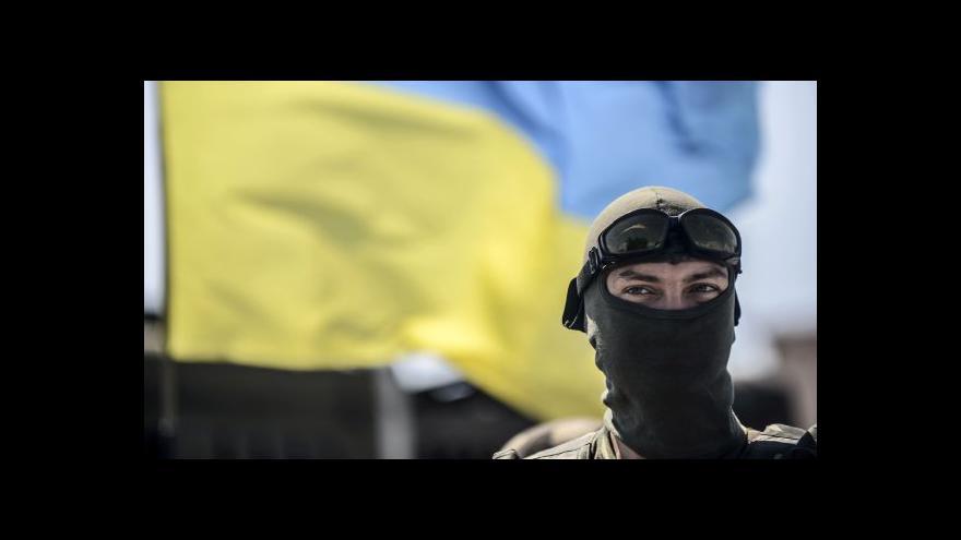 Video Ukrajinští bojovníci prý pronikli do Doněcku
