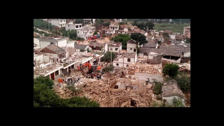 Video Šámalová o zemětřesení: Zřítilo se nejméně 12 tisíc domů