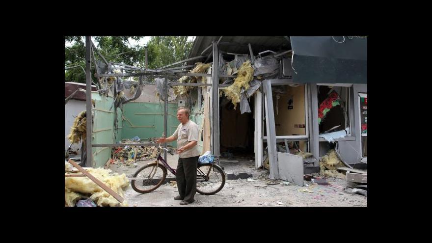 Video Lidé z Doněcku se připravují na obléhání