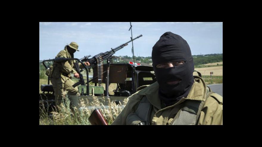 Video Ukrajinští separatisté přiznali popravy