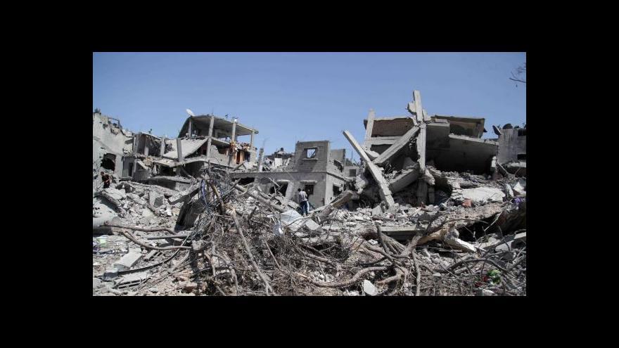 Video Události: Příměří v Gaze trvalo krátce, zmizel izraelský voják