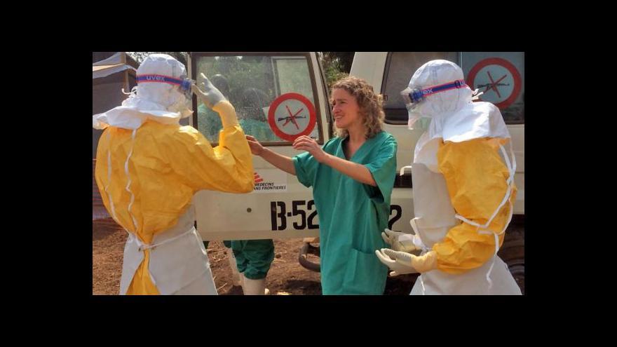 Video Primářka infekční kliniky: Ebola potřebuje velmi teplé podnebí