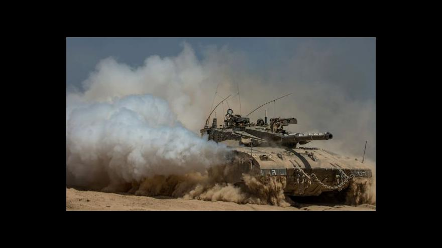 Video Palestinští ozbrojenci prý unesli izraelského vojáka