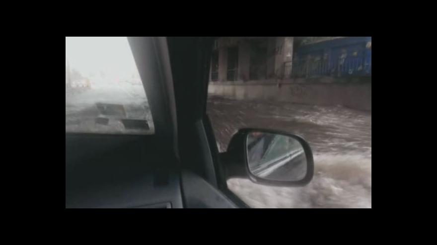 Video Facebook: Záplava v Brně