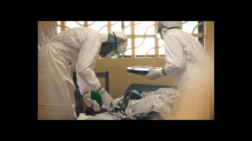 Video Epidemie eboly už straší i Unii a USA