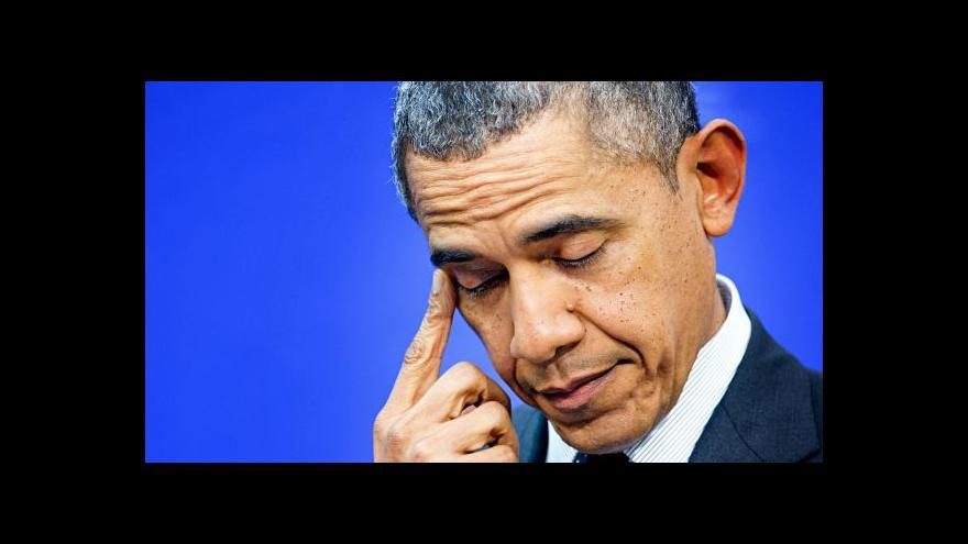Video Lukeš: Žaloba na Obamu pomůže radikálním republikánům