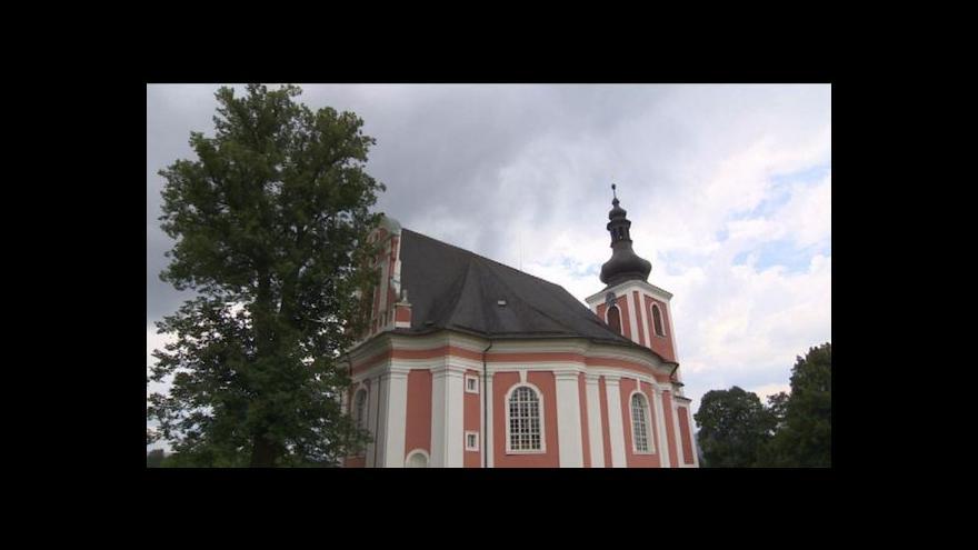 Video Barokní kostely Broumovska by mohly být kulturní památkou