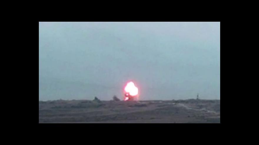 Video Proizraelská propaganda: Raketový útok na tunel