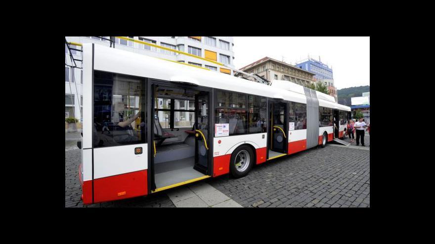Video Ústí nad Labem nakoupilo nové trolejbusy