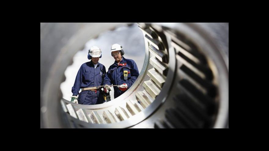 Video Špicar: Problémy by mohly pocítit firmy ve strojírenství a energetice