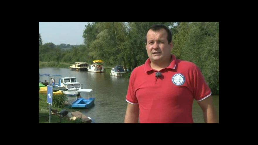 Video Ředitel Baťova kanálu popisuje nové přístaviště v Petrově