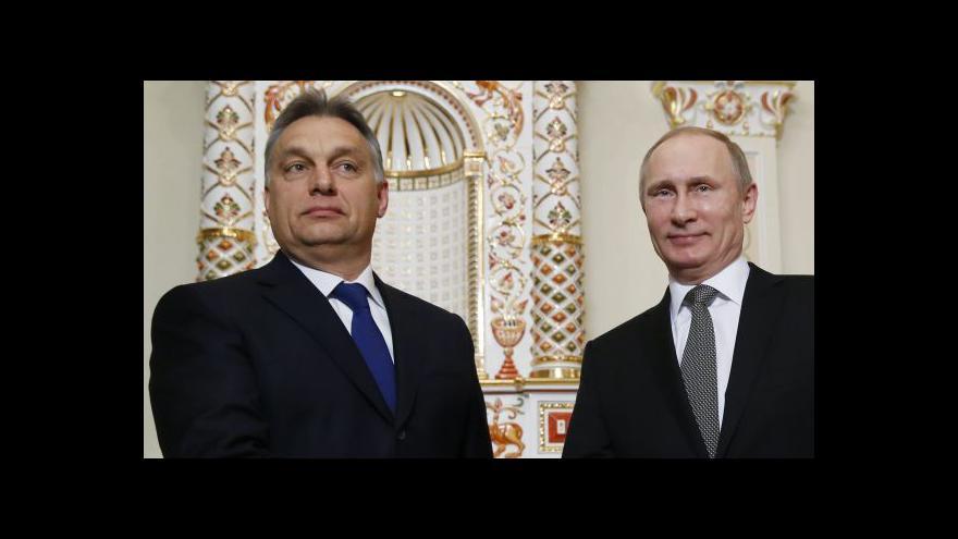 """Video Orbán prý chce Maďarsko """"putinizovat"""""""