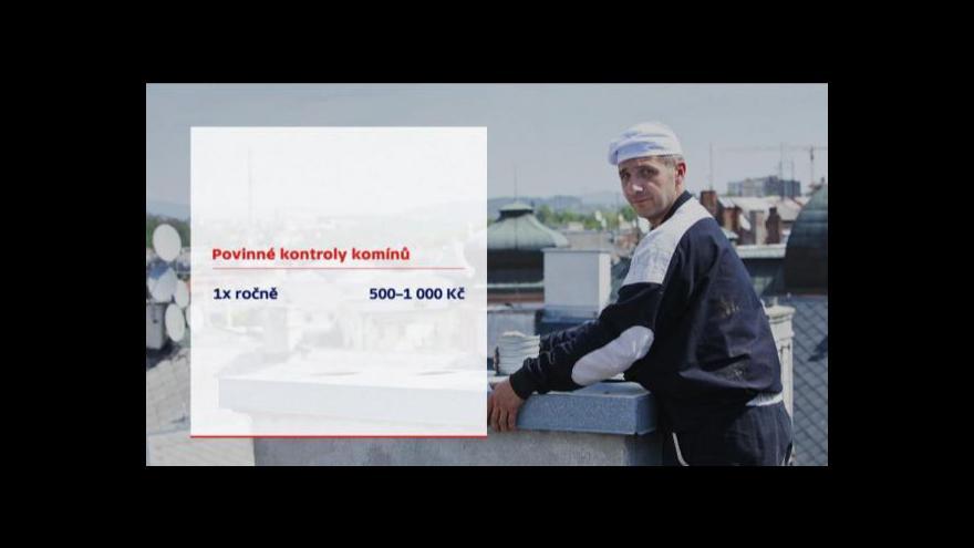 Video Hasiči nabádají, aby lidé nezanedbali kontrolu komínů
