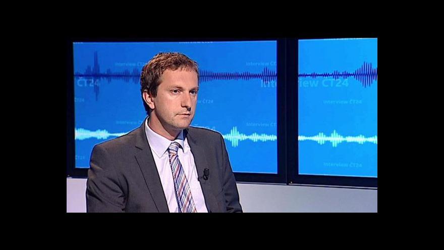 Video Interview ČT24 s Davidem Ondráčkou