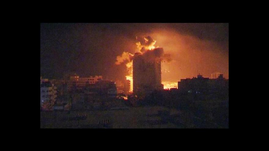 Video Ranní reportáž: Izrael podnikl jeden z nejmasivnějších útoků na Gazu