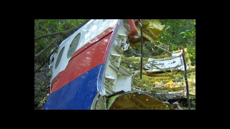 Video Dergam k MH17: Nejvíc důkazů našli zatím novináři