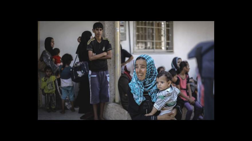 Video Izrael připustil ostřelování školy OSN