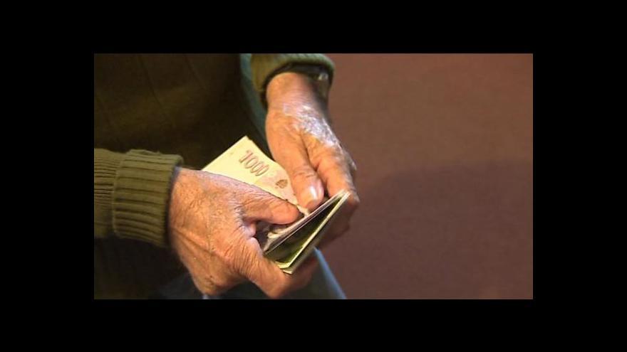 Video Přibývá důchodů s exekucí