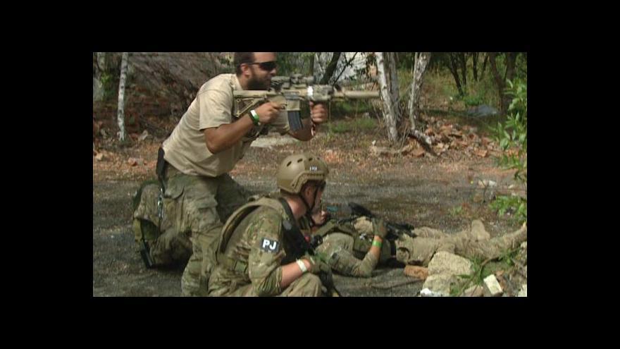 Video Airsoftová operace Protektor se inspirovala Afghánistánem