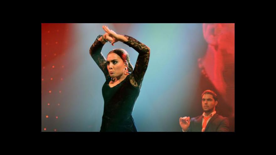 Video Olomouc roztančilo flamenco