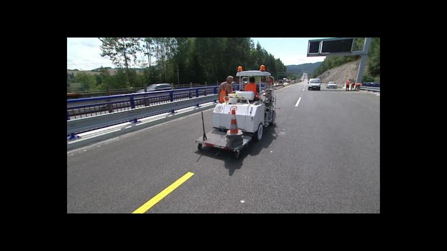 Video Události, komentáře: Poprvé po nové dálnici D1